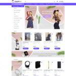 Маркетплейс товаров, электронная площадка которая объединяет поставщиков и покупателей.